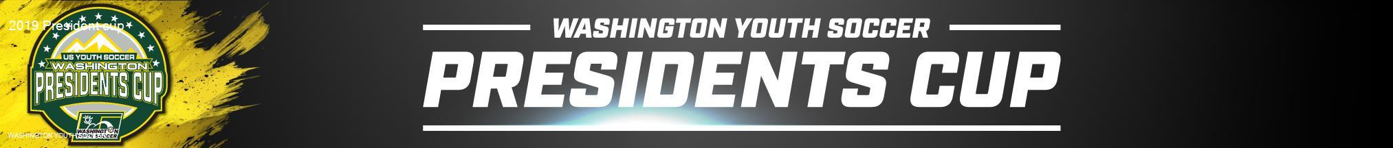 2019 Washington Youth Soccer President Cup banner