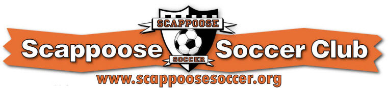 Scappoose Soccer Club banner