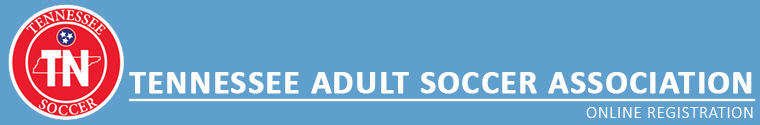 Tennessee Adult Soccer Association banner