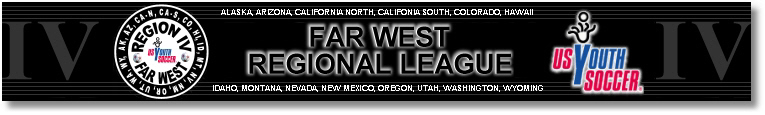 2012 Far West Regional League Fall banner