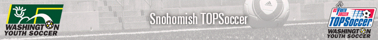 TOPSoccer Snohomish banner
