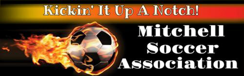 Mitchell Soccer Association - 01 banner